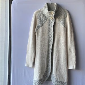 Prana Warm White Cardigan